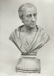 Louis François Roubiliac, Alexander Pope, ca. 1760, marble, private collection