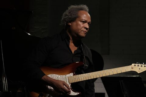 New Haven native guitarist Michael Gregory Jackson performs as part of the Firehouse 12 Fall 2014 Jazz Series.