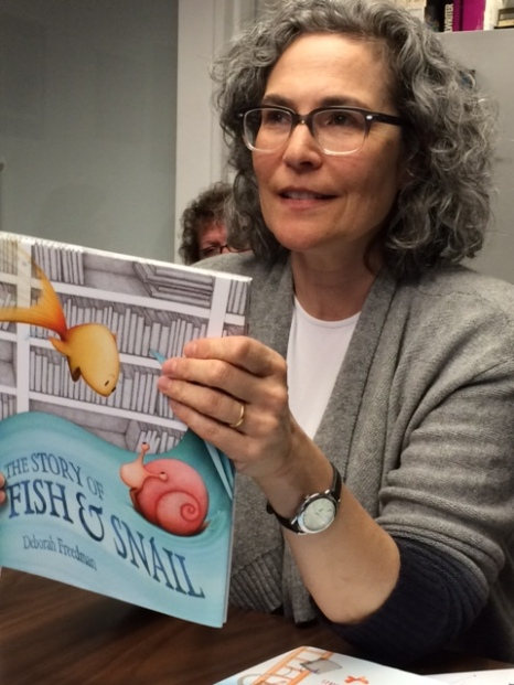 children's book author Deborah Freedman