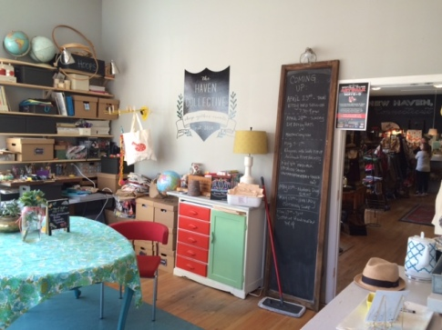 The Haven Collective craft room.